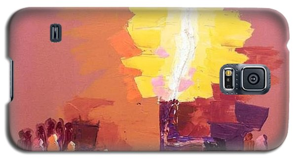 The Flare A Beacon Of Hope And Anguish Galaxy S5 Case