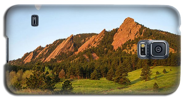 The Flatirons - Spring Galaxy S5 Case