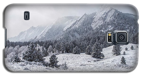 The Flatirons - Winter Galaxy S5 Case