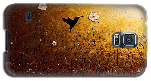The Flight Of A Hummingbird Galaxy S5 Case by Carmen Guedez
