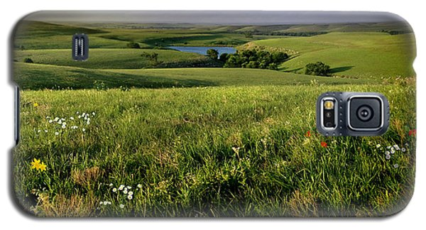 The Kansas Flint Hills From Rosalia Ranch Galaxy S5 Case by Rod Seel