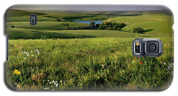The Kansas Flint Hills From Rosalia Ranch Galaxy S5 Case