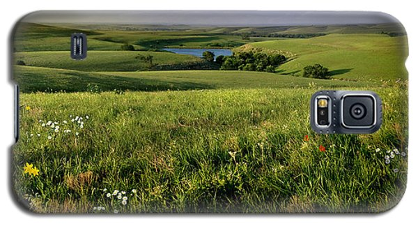 Galaxy S5 Case featuring the photograph The Kansas Flint Hills From Rosalia Ranch by Rod Seel
