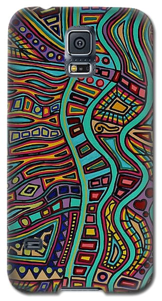 The Flow Galaxy S5 Case by Barbara St Jean