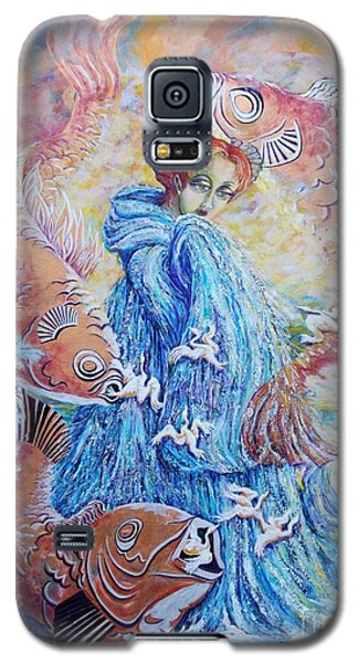 The Flow Of Creativity Galaxy S5 Case