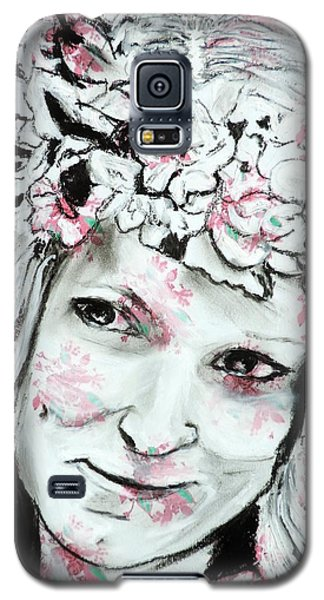 The Flower Girl Galaxy S5 Case
