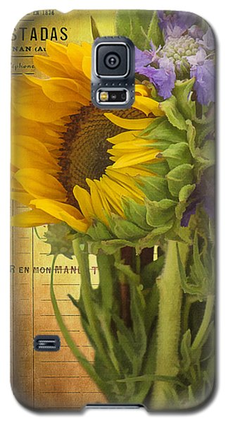 The Flower Market Galaxy S5 Case by Priscilla Burgers