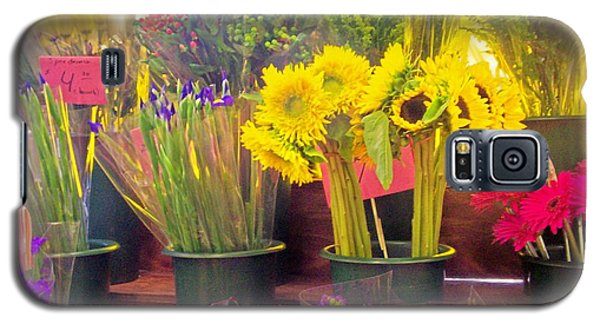 The Flower Stand  Galaxy S5 Case