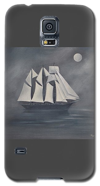 Galaxy S5 Case featuring the painting The Fog by Virginia Coyle