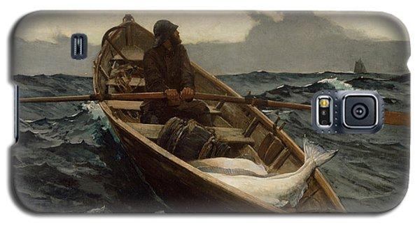 The Fog Warning .halibut Fishing Galaxy S5 Case