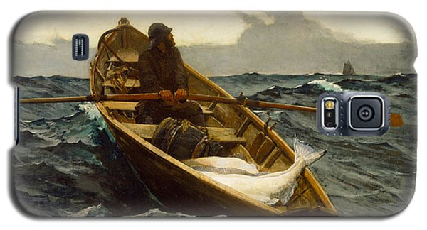 The Fog Warning Galaxy S5 Case by Winslow Homer