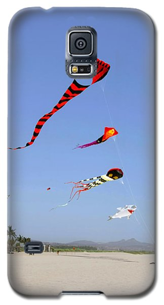 Galaxy S5 Case featuring the photograph The Forgotten Joy Of Soaring Kites by Christine Till