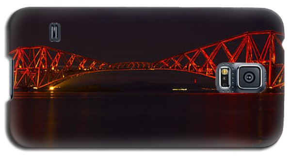 The Forth Bridge By Night Galaxy S5 Case
