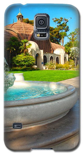 Botanical Building And Fountain At Balboa Park Galaxy S5 Case