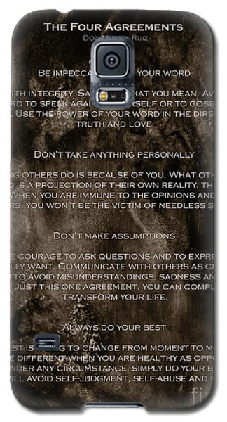 The Four Agreements Galaxy S5 Case