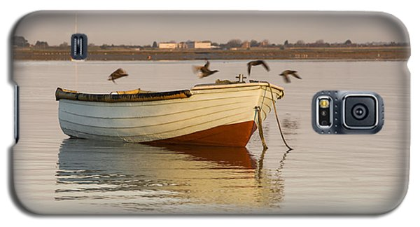 Galaxy S5 Case featuring the photograph The Four Flying Boatmen by Trevor Chriss