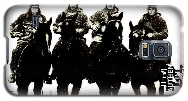 The Four Horsemen Of Notre Dame Galaxy S5 Case by David Patterson