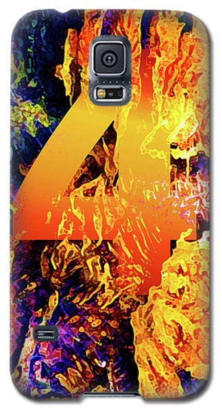 The Four Of Creation Galaxy S5 Case by Chuck Mountain