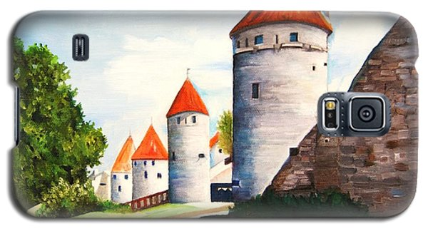 The Four Old Towers Estonia Galaxy S5 Case