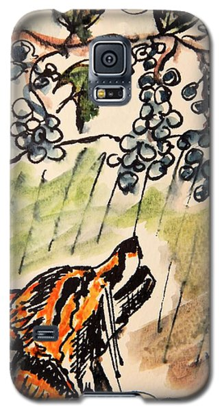 The Fox And The Grapes Galaxy S5 Case