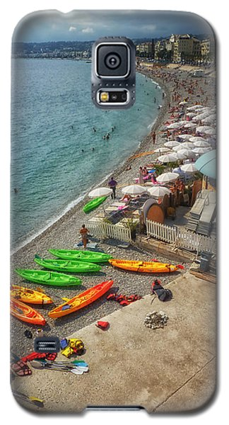 Galaxy S5 Case featuring the photograph The French Riviera by Kim Andelkovic