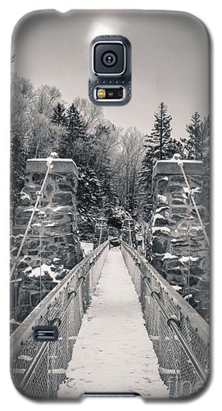 Galaxy S5 Case featuring the photograph The Frost Across by Mark David Zahn