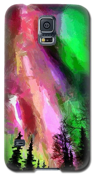 Galaxy S5 Case featuring the painting The Future by Georgi Dimitrov