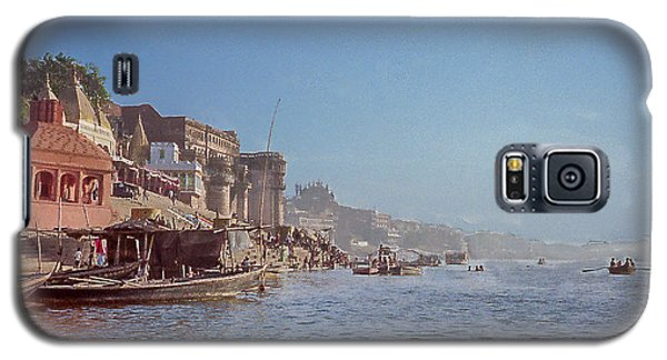 The Ganges River At Varanasi Galaxy S5 Case