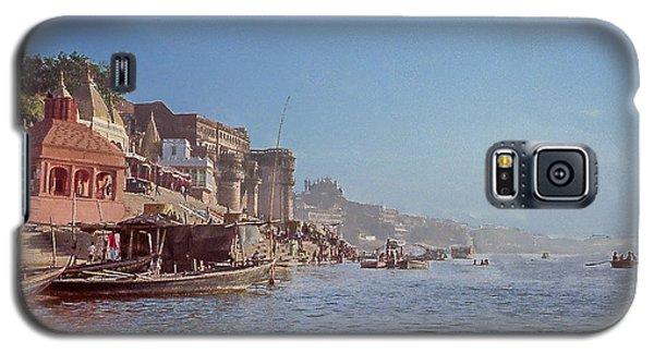 The Ganges River At Varanasi Galaxy S5 Case