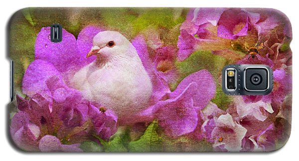 The Garden Of White Dove Galaxy S5 Case by Olga Hamilton