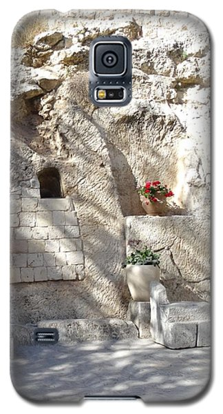 The Garden Tomb  In Jerusalem Galaxy S5 Case