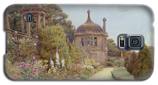 The Gardens At Montacute In Somerset Galaxy S5 Case by Ernest Arthur Rowe