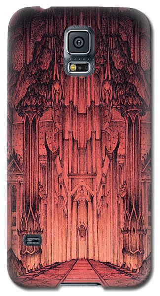 The Gates Of Barad Dur Galaxy S5 Case by Curtiss Shaffer