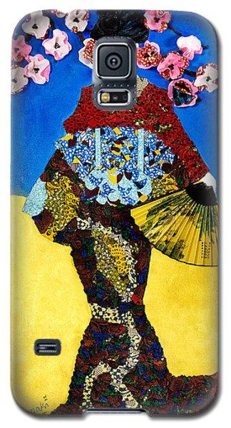 The Geisha Galaxy S5 Case by Apanaki Temitayo M