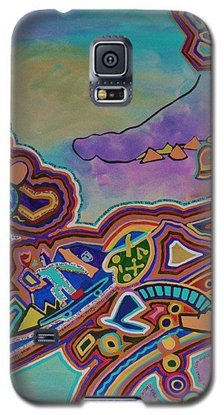 The Genie Is Out Of The Bottle Galaxy S5 Case by Barbara St Jean