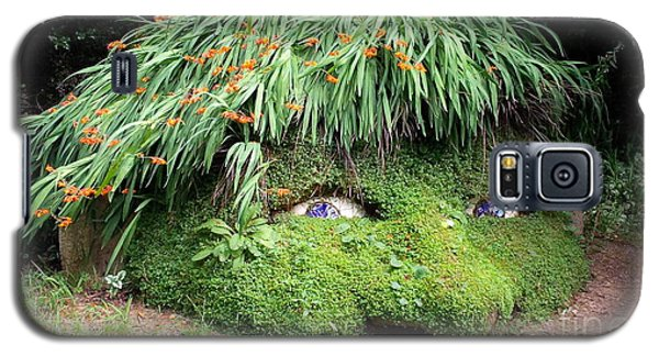 The Giant's Head Heligan Cornwall Galaxy S5 Case by Richard Brookes