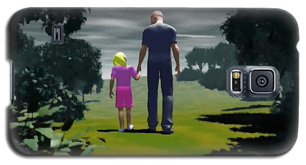 The Gift Of Being 'daddy' Galaxy S5 Case