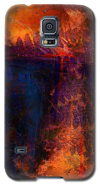 Galaxy S5 Case featuring the mixed media The Gift by Shevon Johnson