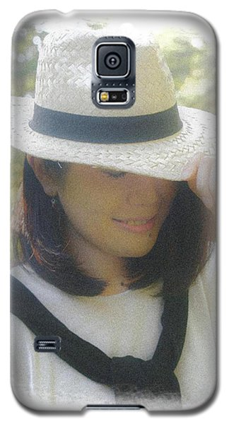 The Girl In The Straw Hat Galaxy S5 Case