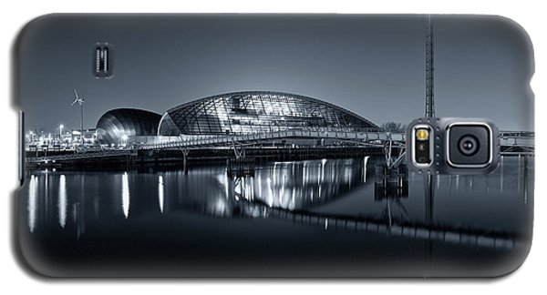 The Glasgow Science Centre In Black And White Galaxy S5 Case