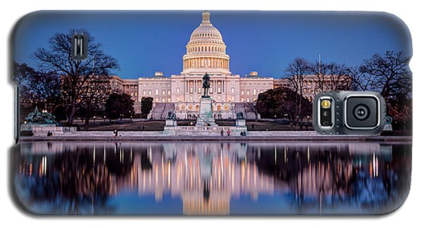 The Glow Of The Capitol Galaxy S5 Case
