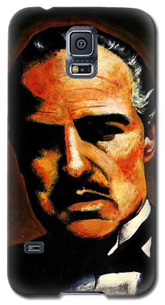 Galaxy S5 Case featuring the painting Godfather by Salman Ravish