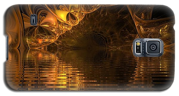 The Golden Cave Galaxy S5 Case