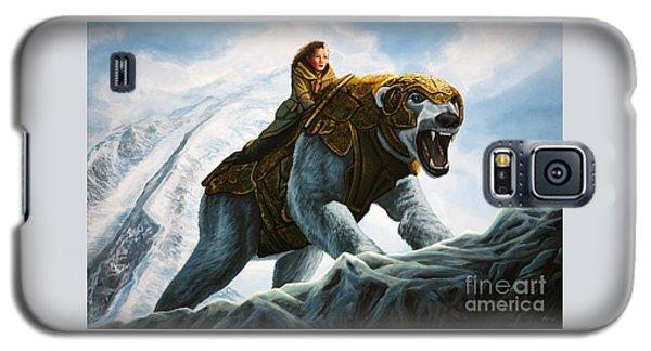 Polar Bear Galaxy S5 Case - The Golden Compass  by Paul Meijering