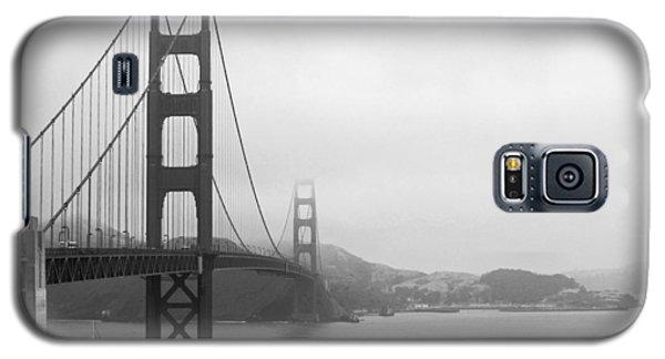 The Golden Gate Bridge In Classic B W Galaxy S5 Case