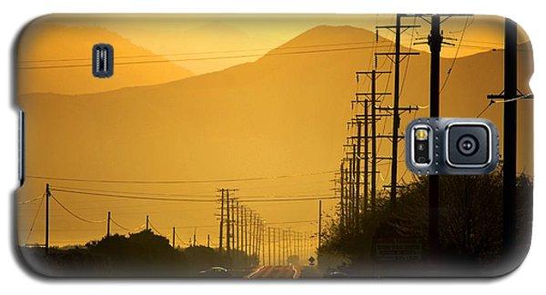 The Golden Road Galaxy S5 Case by Matt Harang