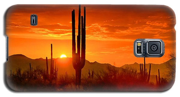 The Golden Southwest Skies  Galaxy S5 Case