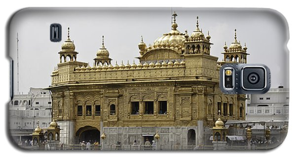 Galaxy S5 Case featuring the photograph The Golden Temple In Amritsar by Ashish Agarwal