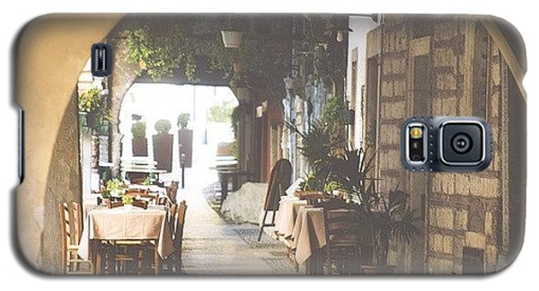 The Good Life  #italy #summer #dine Galaxy S5 Case by A Rey