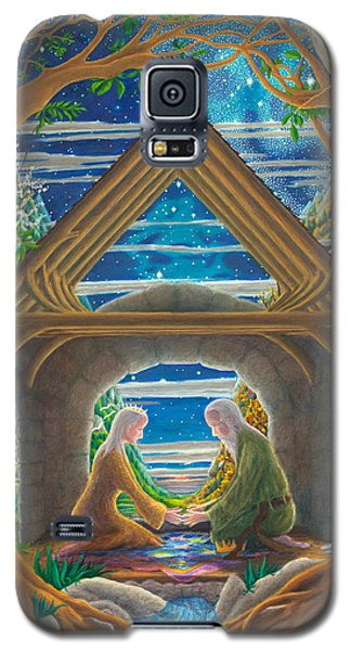 Galaxy S5 Case featuring the painting The Good Marriage by Matt Konar